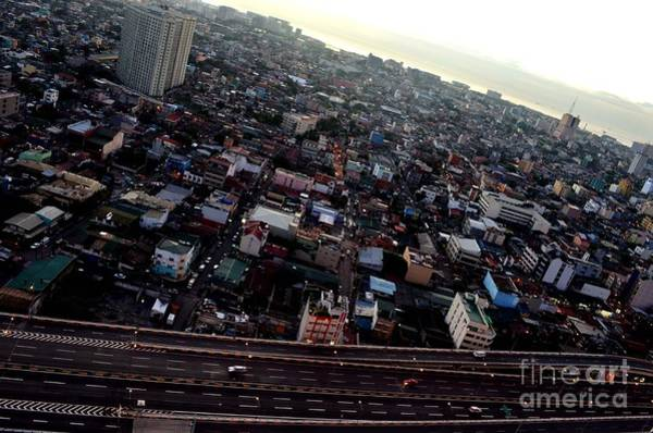 Photograph - Birds Eye View Of The Pasay City by Christopher Shellhammer