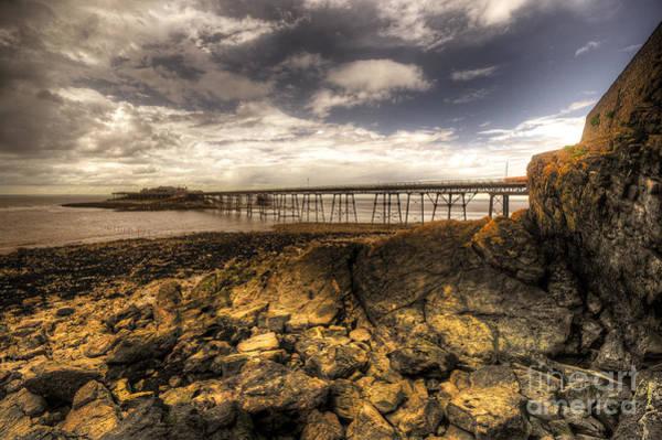 Bristol Channel Photograph - Birnbeck Pier  by Rob Hawkins