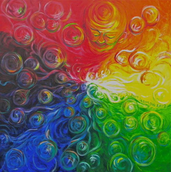 Painting - Birth Of Color by Jeanette Jarmon