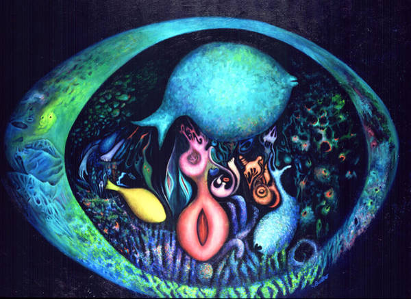 Painting - Birth Of Genes by Lynn Buettner