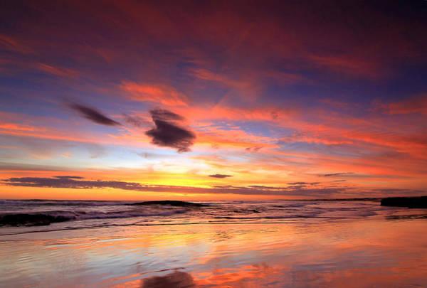 Photograph - Birubi Sunset by Paul Svensen