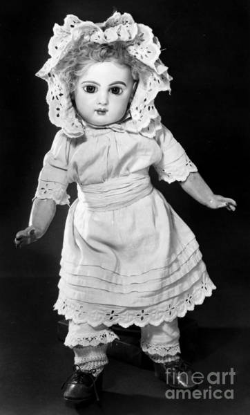 Photograph - Bisque Doll, C1890 by Granger