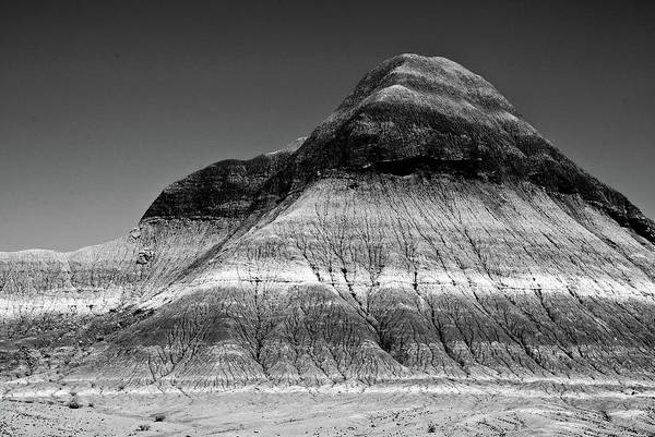 Photograph - Black And White Painted Desert by Bob and Nadine Johnston