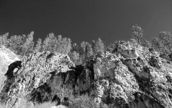 Dakota Photograph - Black Hills In Black And White by Twenty Two North Photography