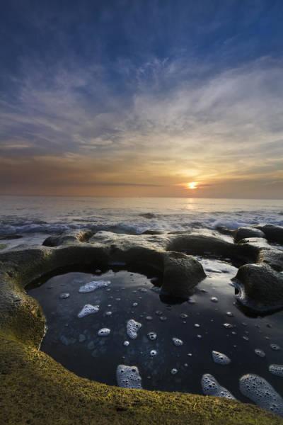 Hobe Sound Photograph - Black Sea by Debra and Dave Vanderlaan