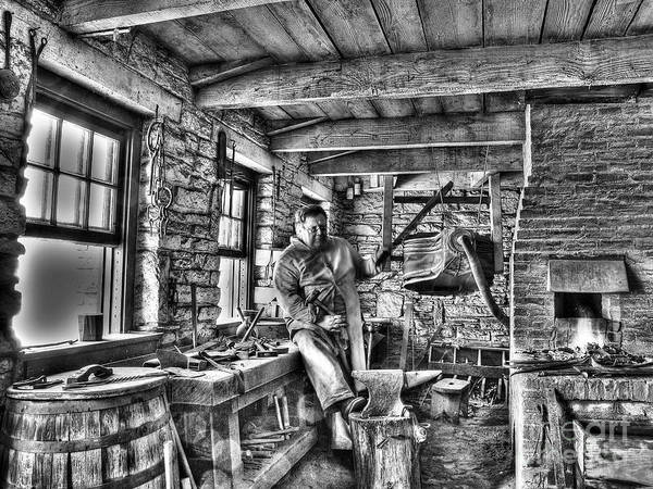 Farrier Photograph - Blacksmith by Jimmy Ostgard