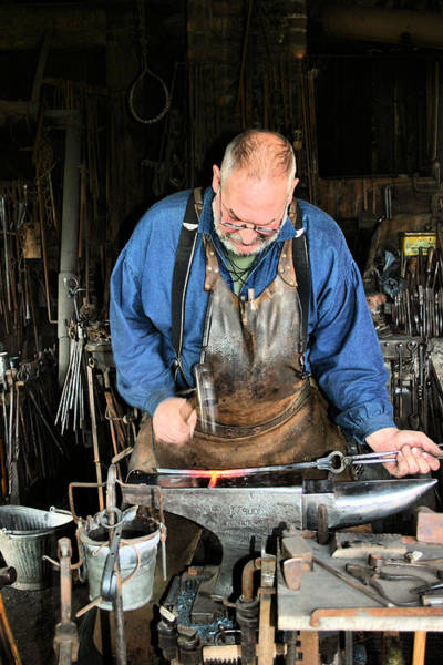 Photograph - Blacksmith by Kristin Elmquist