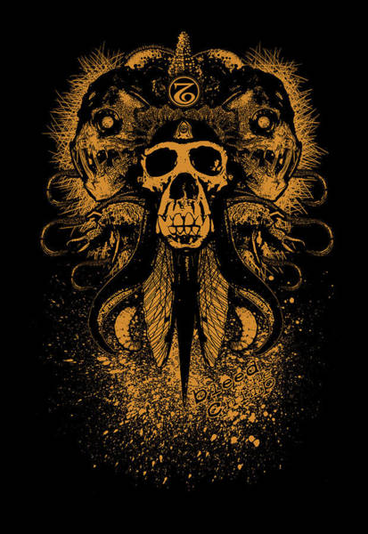 Mixed Media - Bleed The Chimp by Tony Koehl