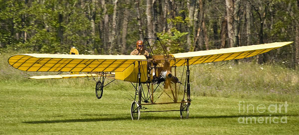 Bleriot Photograph - Bleriot Takeoff by Tim Mulina