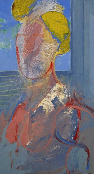 Painting - Blond After De Kooning by Cliff Spohn