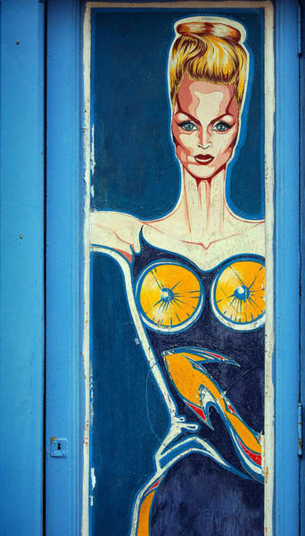 Photograph - Blonde Woman In Blue by RicardMN Photography
