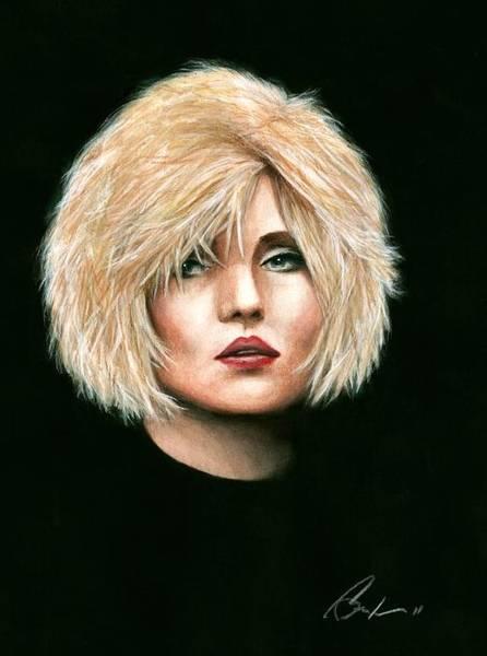 Debbie Harry Wall Art - Painting - Blondie by Bruce Lennon