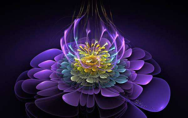 Essence Digital Art - Blooming Essence by Peggi Wolfe