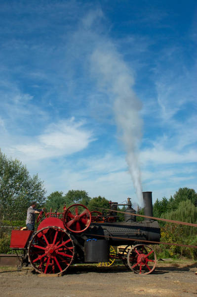 Photograph - Blowing Off A Little Steam by Mark Dodd