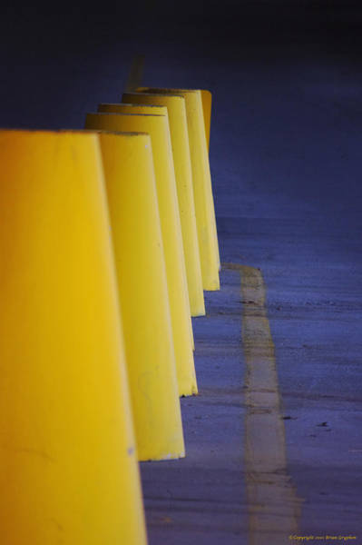 Photograph - Blue And Yellow by Brian Gryphon