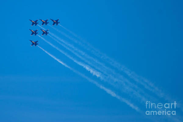 Photograph - Blue Angel 29 by Mark Dodd