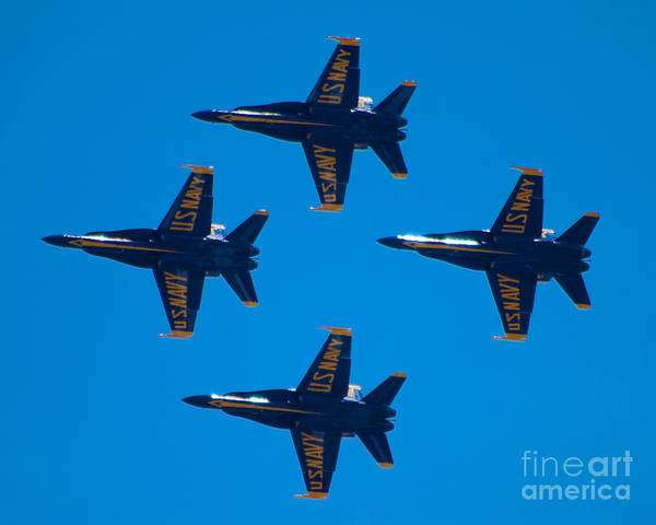 Photograph - Blue Angels 10 by Mark Dodd