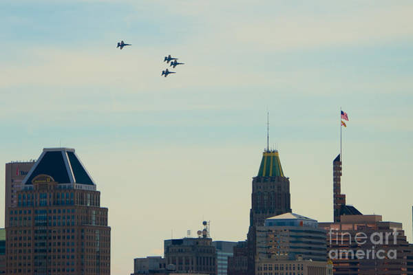 Photograph - Blue Angels 11 by Mark Dodd