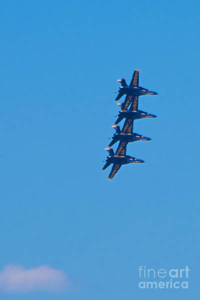 Photograph - Blue Angels 14 by Mark Dodd