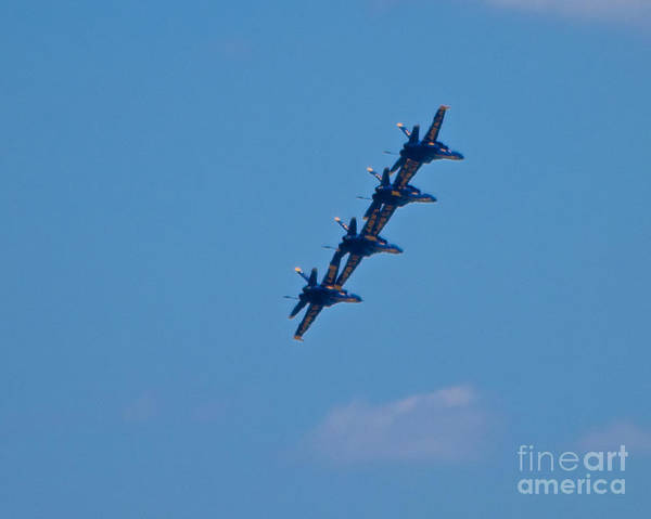 Photograph - Blue Angels 15 by Mark Dodd