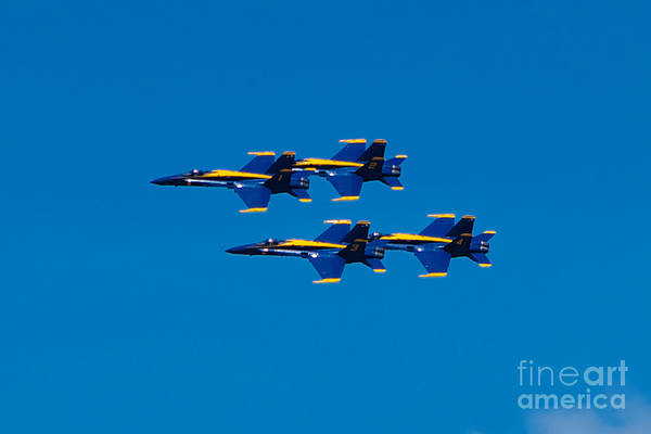 Photograph - Blue Angels 2 by Mark Dodd