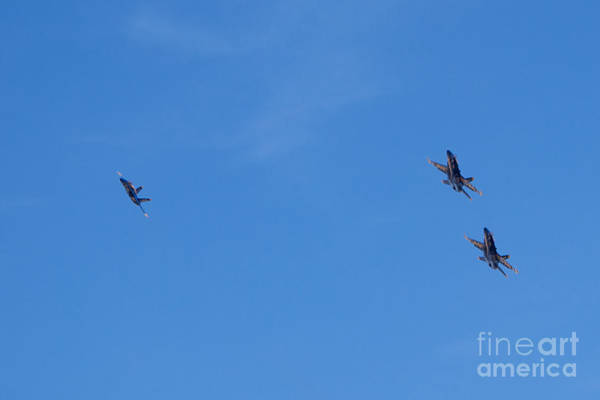 Photograph - Blue Angels 23 by Mark Dodd