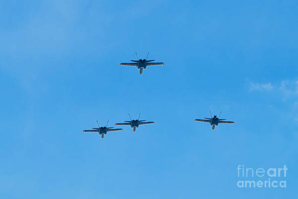 Photograph - Blue Angels 24 by Mark Dodd