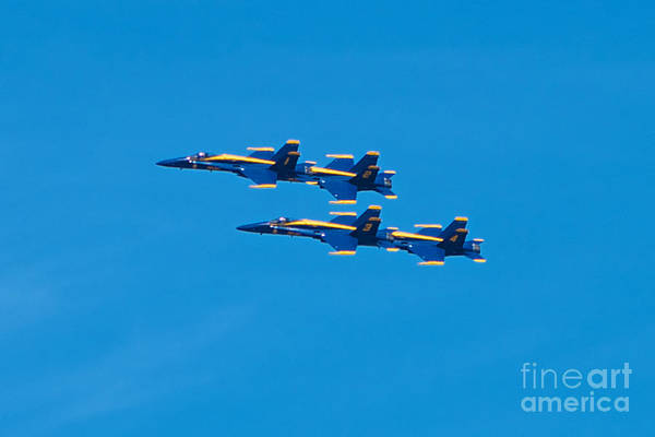 Photograph - Blue Angels 3 by Mark Dodd