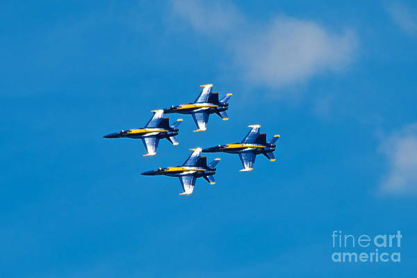 Photograph - Blue Angels 4 by Mark Dodd