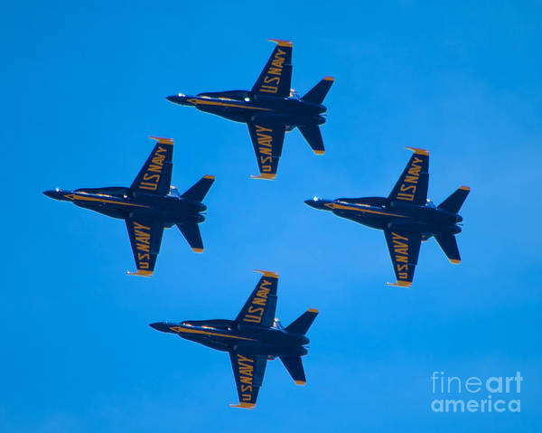 Photograph - Blue Angels 9 by Mark Dodd