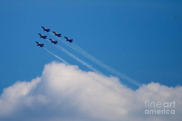 Photograph - Blue Angels Up And Away by Mark Dodd