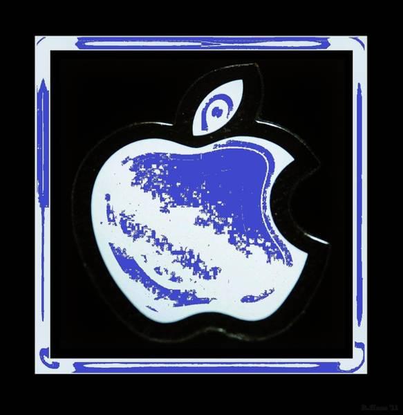 The Mac Wall Art - Photograph - Blue Apple by Rob Hans