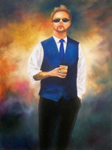Painting - Blue Boy 2012 by Joni McPherson