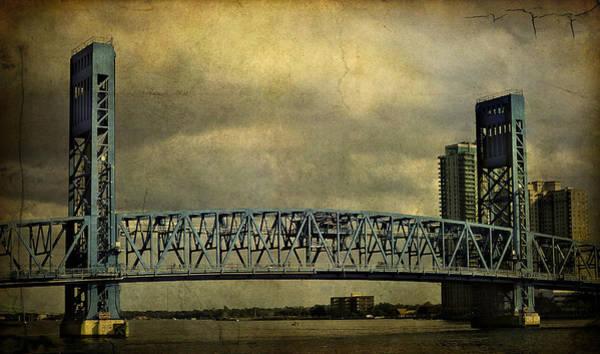 Photograph - Blue Bridge by Mario Celzner
