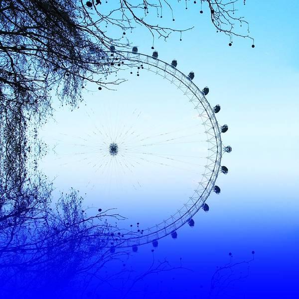 Millenium Photograph - Blue Eye by Sharon Lisa Clarke
