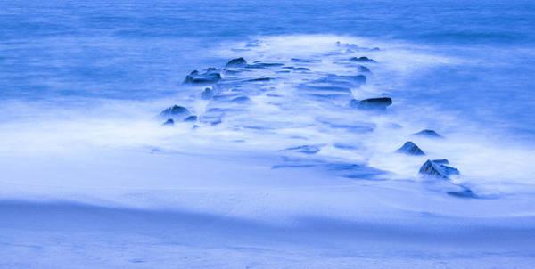 Photograph - Blue Jetty by Tom Singleton