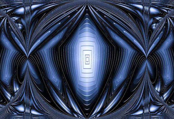 Digital Art - Blue Light by Theodore Jones