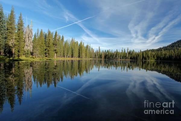 Photograph - Blue Mirror by Adam Jewell