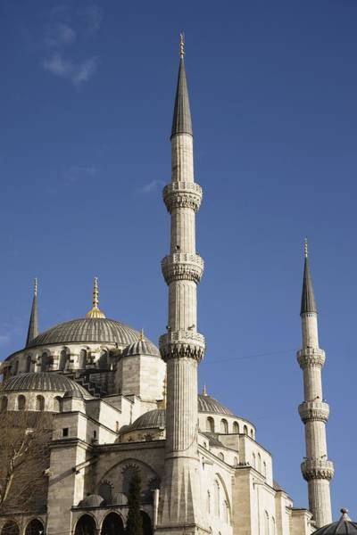 Sultan Ahmet Camii Wall Art - Photograph - Blue Mosque Or Sultan Ahmet Camii by Axiom Photographic