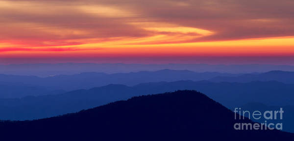 Wall Art - Photograph - Blue Ridge Mountains North Carolina by Dustin K Ryan