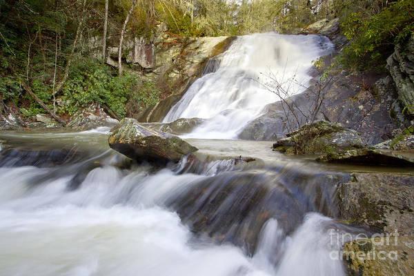 North Carolina Waterfalls Photograph - Blue Ridge Mountains Waterfall by Dustin K Ryan