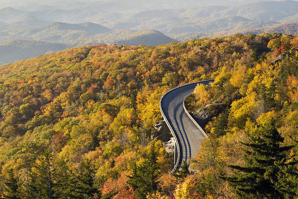 Photograph - Blue Ridge Parkway Linn Cove Viaduct by Pierre Leclerc Photography