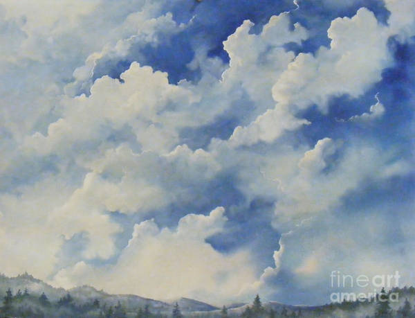 Painting - Blue Ridge Vista...sold  by Sandy Brindle