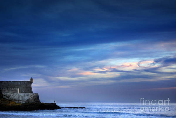 Blue Water Photograph - Blue Storm by Carlos Caetano