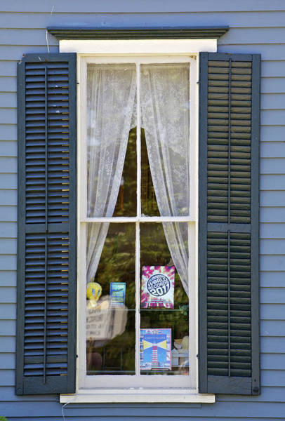 Photograph - Blue Window by David Letts