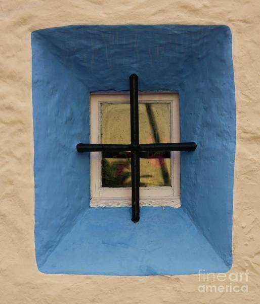 Wall Art - Photograph - Blue Window by Dennis Curry