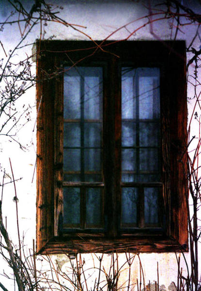 Photograph - Blue Window by Emanuel Tanjala