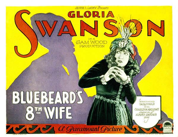 Gloria Swanson Photograph - Bluebeards Eigth Wife, Gloria Swanson by Everett