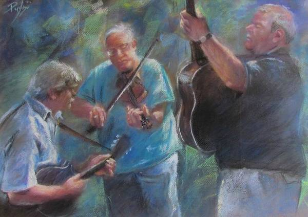 Pastel - Bluegrass Blast by Bill Puglisi
