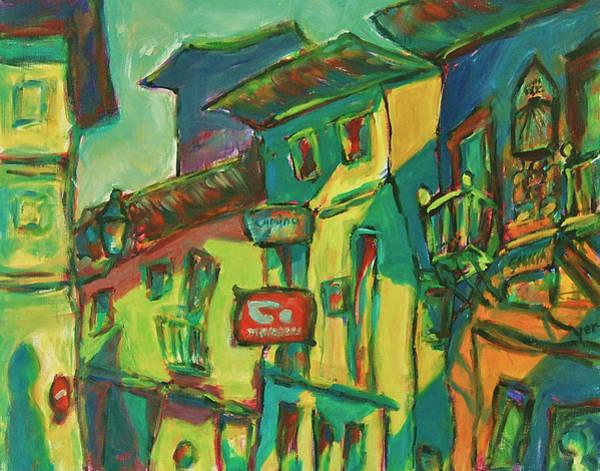 Painting - Bluesy by Yen
